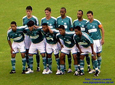 Estive no lendário Estádio Palestra Itália e acompanhei a partida Palmeiras  B 2 - 1 Grêmio Barueri 56afb963caa0c