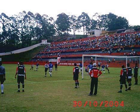 Vista geral do jogo entre Taboão da Serra e Itararé 3b2642b80a84e